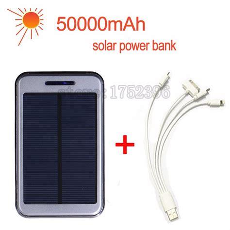 Sale Powerbank Solar Charger popular power bank 50000mah buy cheap power bank 50000mah