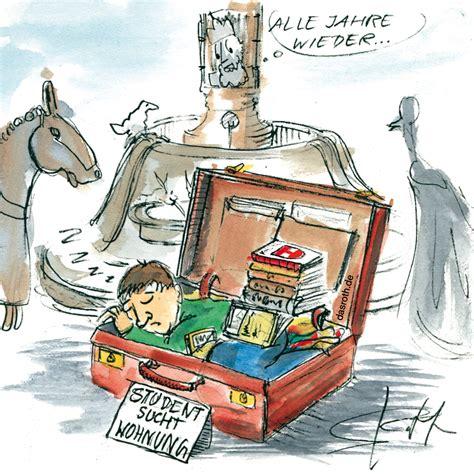 wohnung comic karikaturen illustrationen comics stefan roth