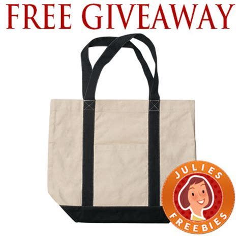 Tote Bag Giveaway - free tote bag giveaway 500 winners julie s freebies