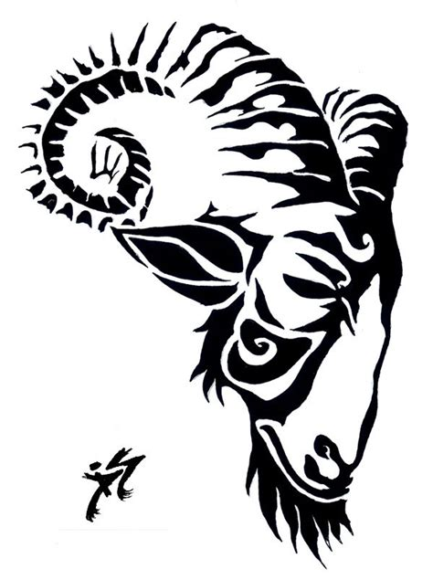 oriental goat tattoo 43 best images about textile design projects on pinterest