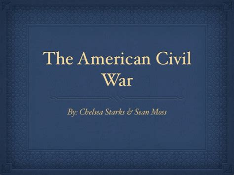 civil war powerpoint template american civil war presentation