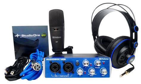 Audiobox Usb presonus audiobox usb recording bundle review