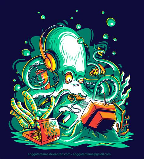 Giordano 2690 55 In Collection octopus the gamer on behance