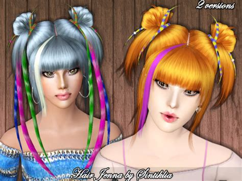 anime hairstyles for the sims 3 anime hairstyle by sintiklia sims 3 hairs