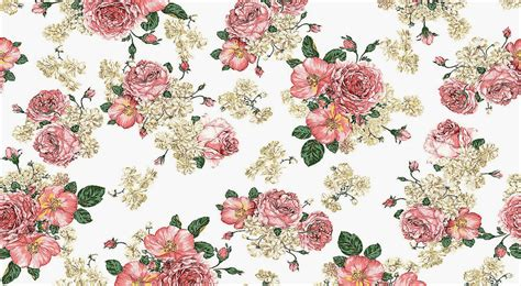 Vintage Flowers Pattern vintage floral wallpaper pattern wallpaperhdc