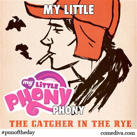Phony Theme Catcher In The Rye | the catcher in the rye phony quotes quotesgram