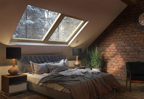 sleeping   stars bedroom skylight ideas