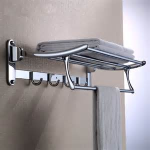 towel holder shelf high quality 304 stainless steel bath towel holder