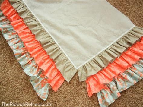 Ruffled Crib Skirt Tutorial The Ribbon Retreat Blog How To Make A Crib Bed Skirt