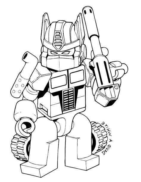 Angry Birds Transformers Coloring Pages To Print Coloring Transformer Printable Coloring Pages