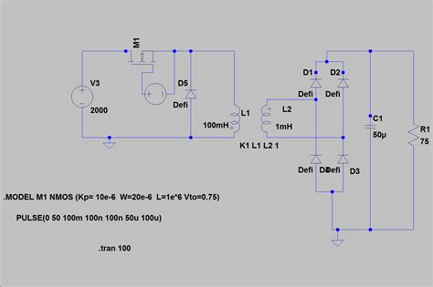 rectifier diode flyback flyback diode simulation 28 images flyback diode rectifier 28 images 50x 1n4007 diode 1a
