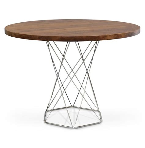 Modern Bistro Table Palecek Pedestal Industrial Modern Solid Wood Dining Bistro Table Kathy Kuo Home