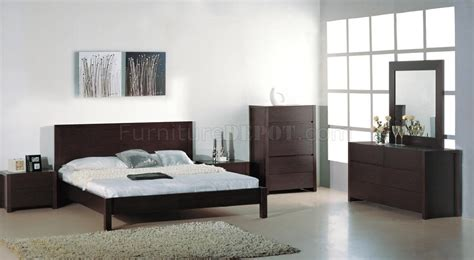 etch bedroom by beverly hills furniture in wenge w options