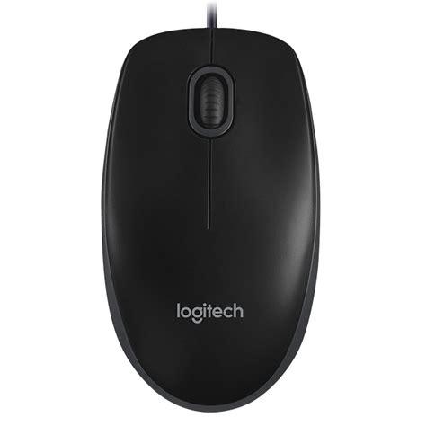 Mouse Logitech Surabaya logitech wired mouse b100 black jakartanotebook
