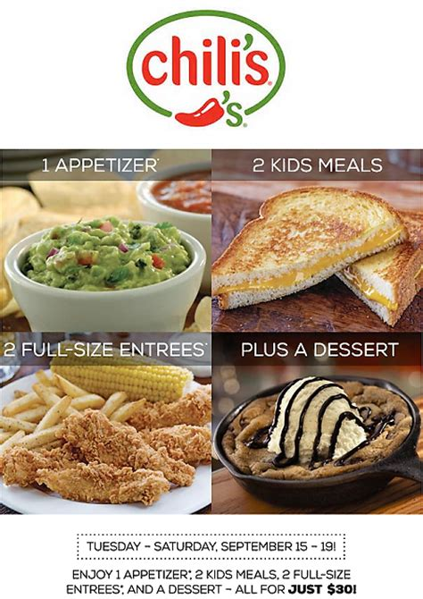 chilis to go coupon 2017 2018 best cars reviews chilis coupons 2017 2018 best cars reviews