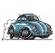 Fehler Neid Auto Toons Autos Kombi Cartoon Beetle Vw Car