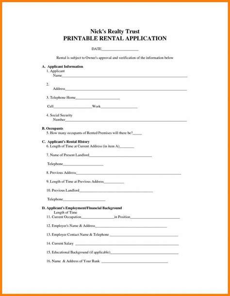 free printable rental lease agreement ninja