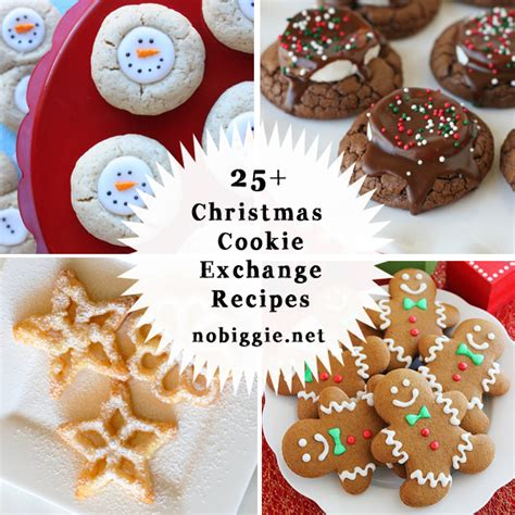 25 christmas cookie exchange recipes