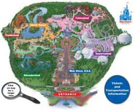 Map Of Magic Kingdom Disney World by Gallery For Gt Disney Magic Kingdom Map 2012