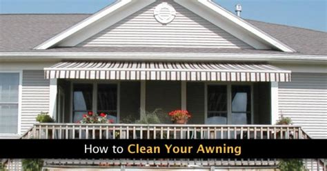 how to clean awnings blog otter creek awnings