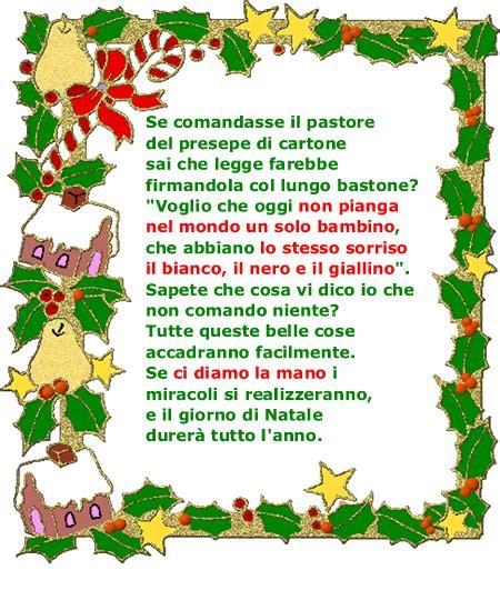 testi natalizi buon natale poesie e filastrocche natale