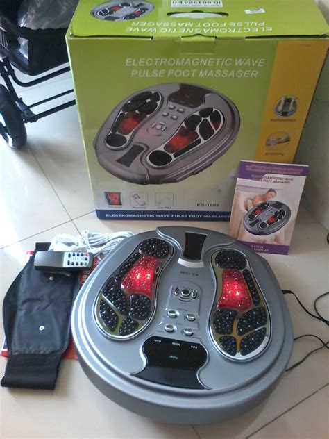 Alat Pijat Kaki Advance tens akupuntur foot massager advance jmg ogawa osim