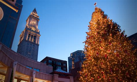 when was the first faneuil hall christmas tree faneuil tree to illuminate boston s skyline eiv news