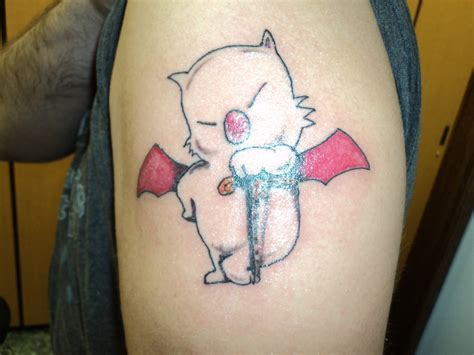 moogle tattoo moogle mog by spellfire42489 on deviantart