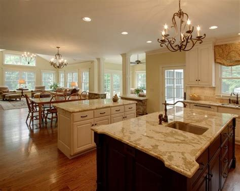 Open Concept Kitchen Dining Room by Open Concept Kitchen Dining Room Photos