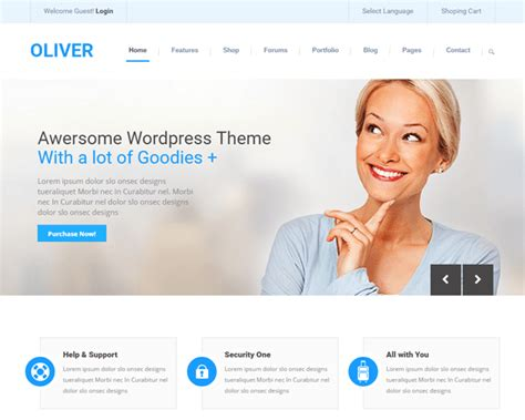3 Best Responsive Corporate Website Templates For Your Business Business Site Template