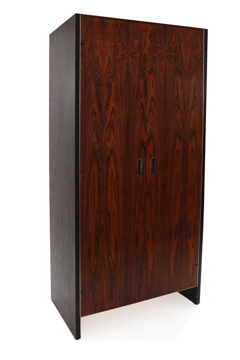 Rosewood Armoire by Robert Baron Glenn Of California Rosewood Armoire For Sale