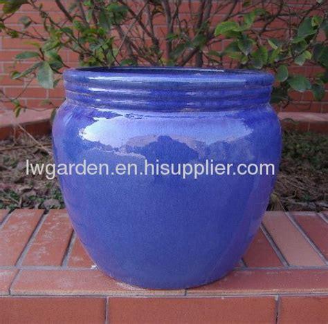glazed flower pots from china manufacturer henan longwin