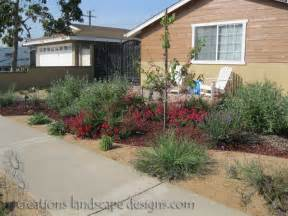 drought tolerant front yard makeover http