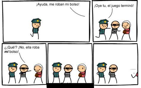 imagenes graficas comicas historieta del ladron y policia historietas cortas las