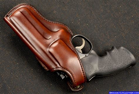 Handmade Gun Holsters - brigade holsters m 4 classic revolver leather gun holster