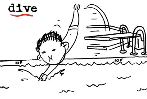 dive dove dived basic verbs my images