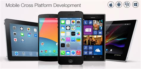 mobile app platform cross platform mobile app development company in india