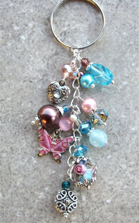 how to make beaded keychains for key chain ideas to make you smile while never losing