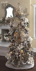 tree decorations 21 silver tree d 233 cor ideas digsdigs