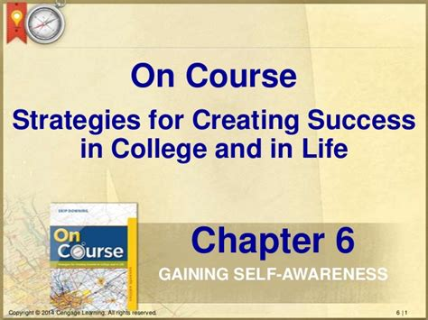 on course strategies for creating success in college and in on course chapter 6 cashdollar revision