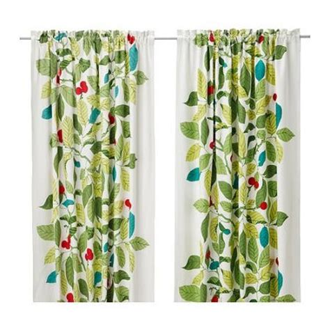 Ikea Stockholm Blad Curtains New 57x98 Leaf Have3 Color