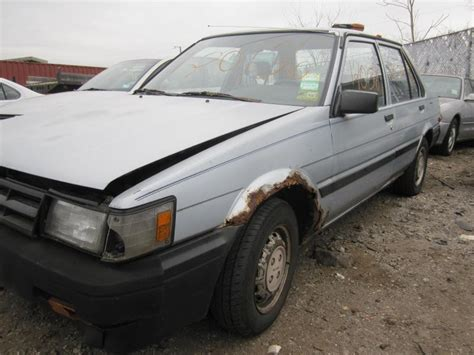 1986 Toyota Parts Parting Out 1986 Toyota Corolla Stock 120136 Tom S