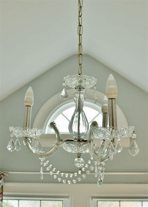 My Chandelier A Site I And A Diy Chandelier Upgrade My Sweet Cottage