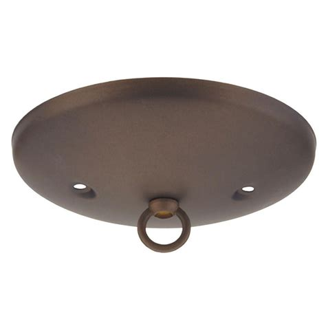 oil rubbed bronze ceiling light canopy westinghouse 5 in oil rubbed bronze modern canopy kit