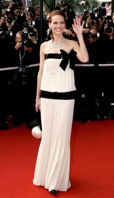 Yay Or Nay Hilary Swank At Ps I You Premiere In Lhuillier by Fashion Disasters Cannes Pinkvilla