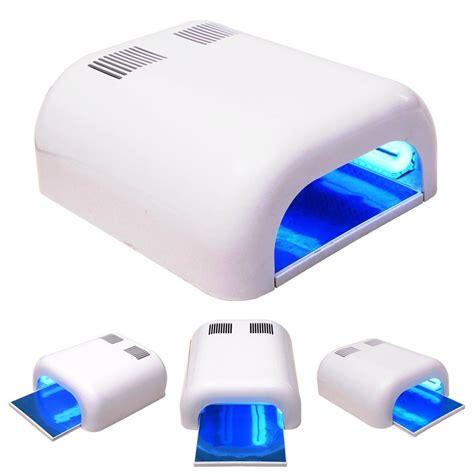 uv light for home 36w led uv nail polish gel timer dryer nail art curing