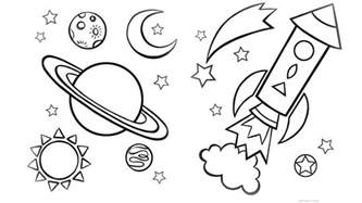 outer space coloring pages space shuttle colouring space coloring home