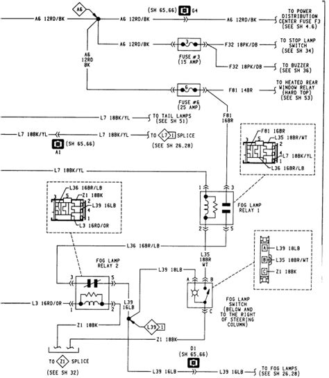1994 jeep sport instrument panel wiring diagrams