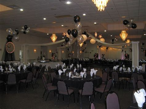black and white prom theme   Silver and Black Prom  The