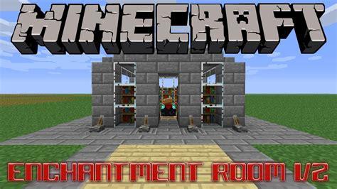 minecraft enchantment room enchantment room v2 minecraft project
